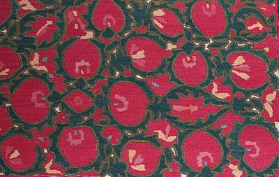 pomegranate suzani bukhara