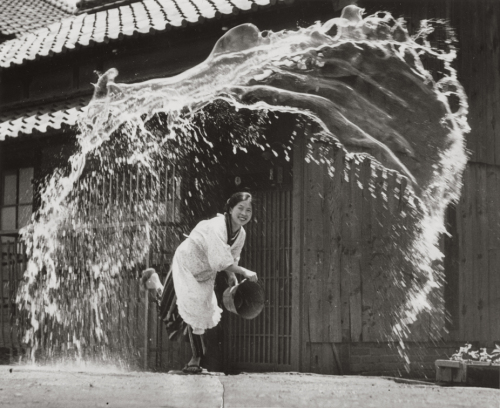 Photo titled Splash! by Koji Takashima, 1951
