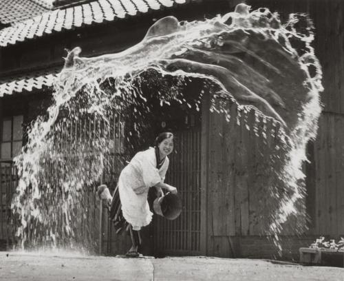Photo titled Splash! by Koji Takashima, 1951