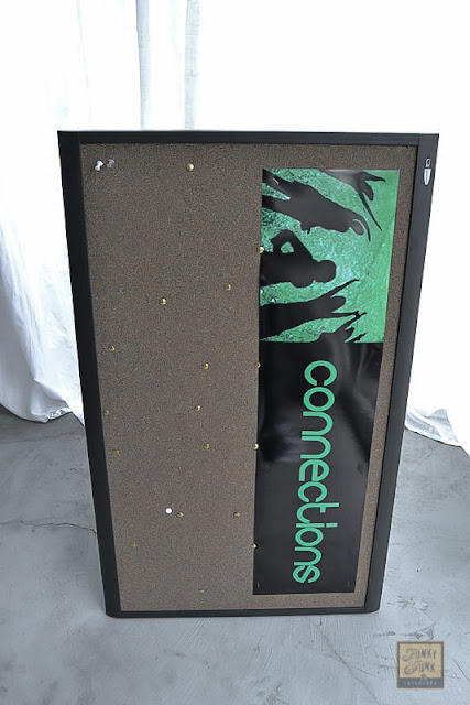 bulletin board redo junk style