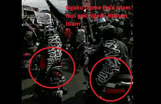 Bendera Rasul ataukah Bendera Demonstrasi?