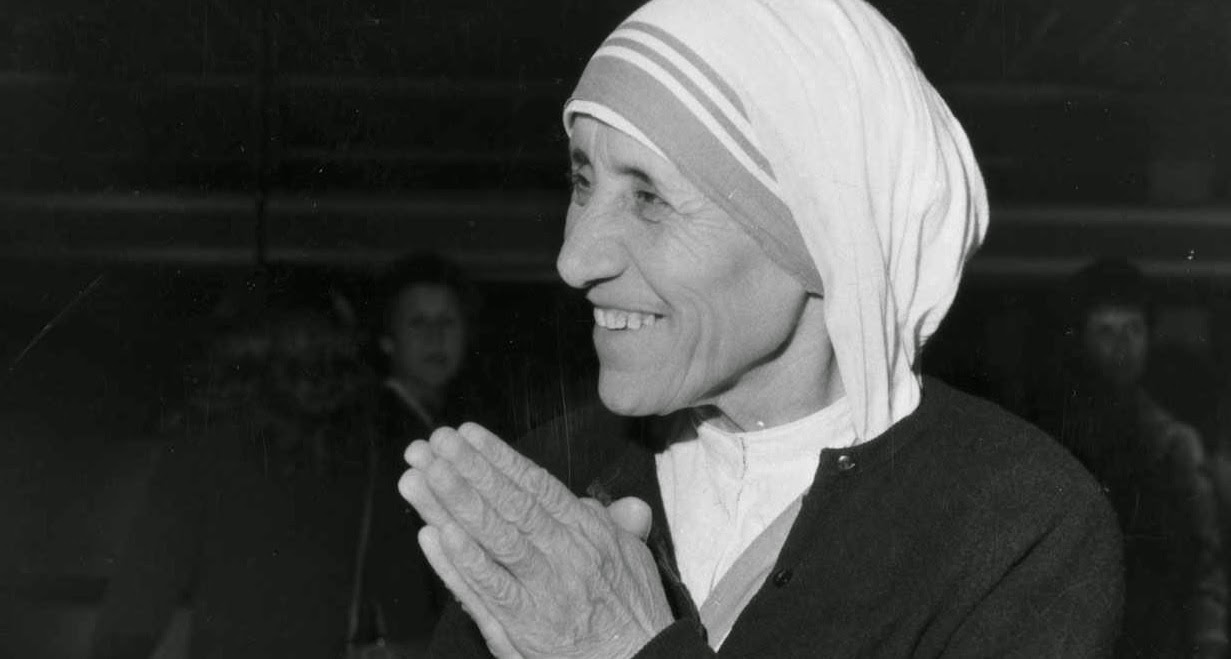 Picture featured in Mother Theresa Inspirational Quotes To Motivate Your Life Mission, a list of the best motivational quotes from Mother Theresa.
