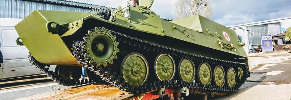 Україна купила болгарські МТ-ЛБ для обладнання у медичні