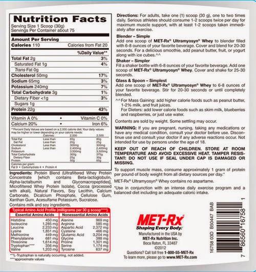 fd20e2348 Descubre las 10 proteínas whey de 2015. – WARRIOR MUSCLE ®