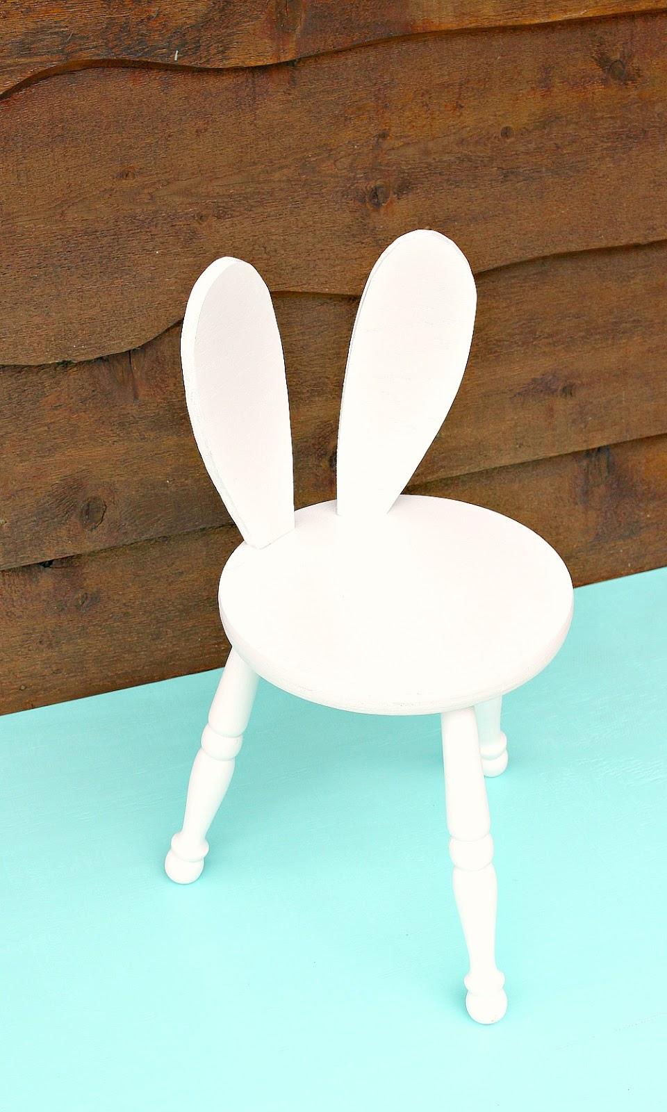 DIY Bunny Stool Hack