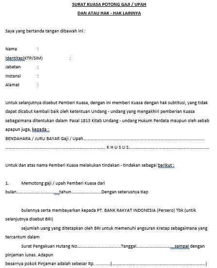 contoh pengisian form permohonan briguna