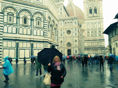 firenze sotto la pioggia