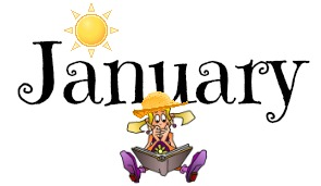Month of January icon