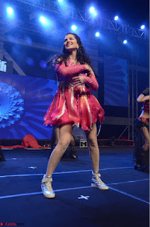 Sunny Leone Dancing on stage At Rogue Movie Audio Music Launch ~  066.JPG
