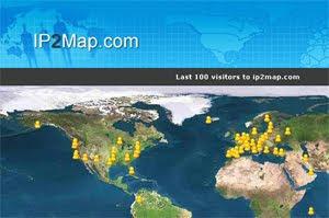 Sitio para averiguar las IPs de nuestras últimas 100 visitas
