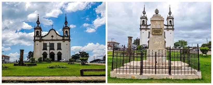 Praça Monsenhor Mendes: Catas Altas e São Miguel da minissérie Se Eu Fechar os Olhos Agora. Foto do cenário: Marilane Batista/Ascom