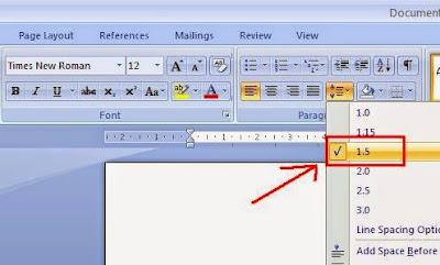 Pengaturan Ukuran Margin, Font, Kertas, Spasi Buat Makalah Yang Baik Dan Benar