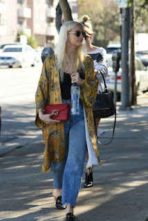 Ashlee Simpson Out Shopping In Los Angeles