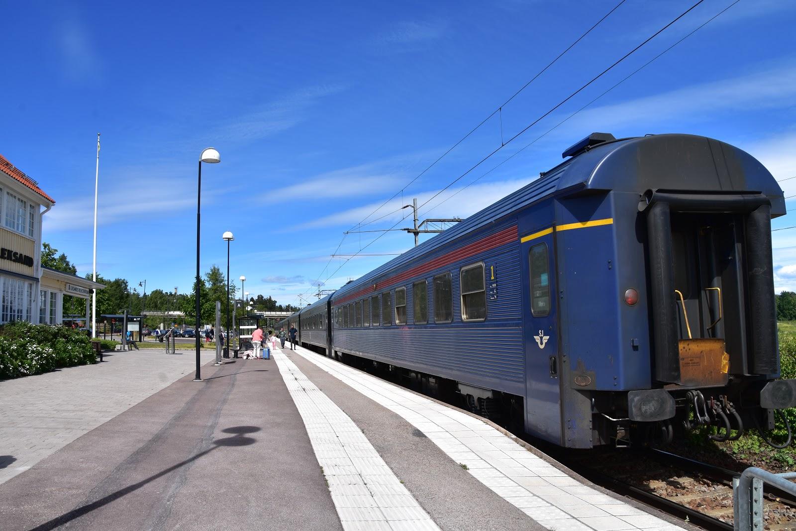 tåg stockholm rättvik
