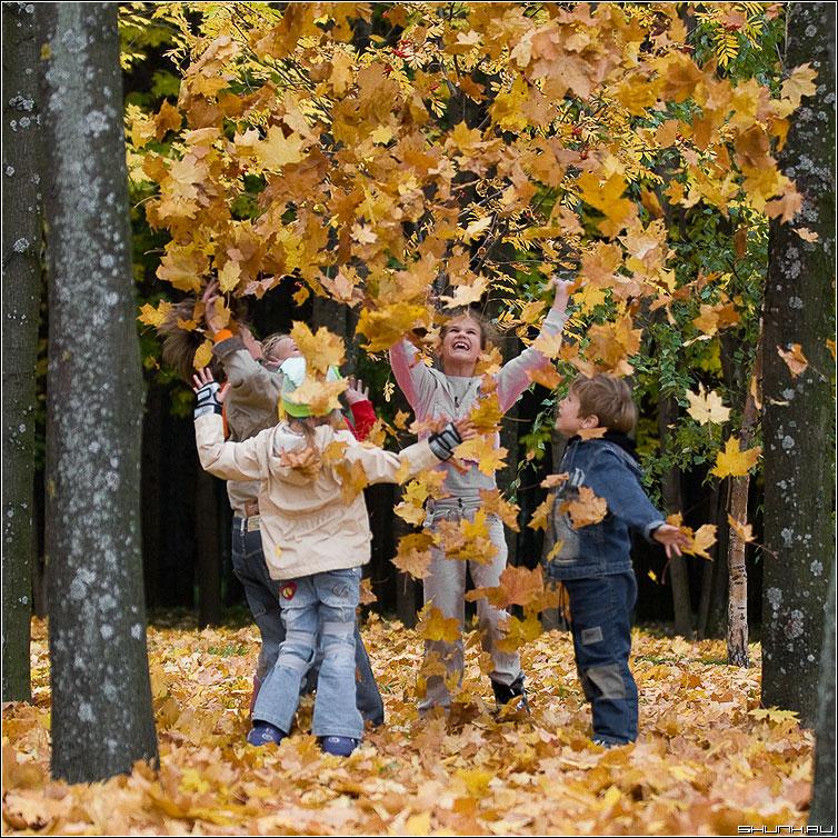 Детский сад 449 quotОлимпиецquot г Челябинска Осень и дети