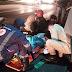 Colisão moto e carro na BR-230 em Cajazeiras deixam duas pessoas feridas na noite desta terça