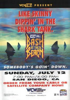 WCW Bash at the Beach 1998 Review: Event poster