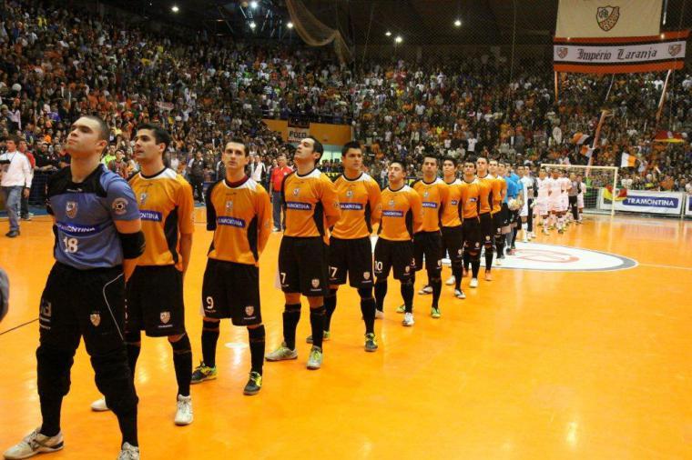 082fcfe33c A Associação Carlos Barbosa de Futsal (ACBF) e a equipe do Santos Futsal