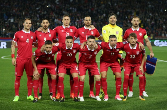 Serbia soccer team