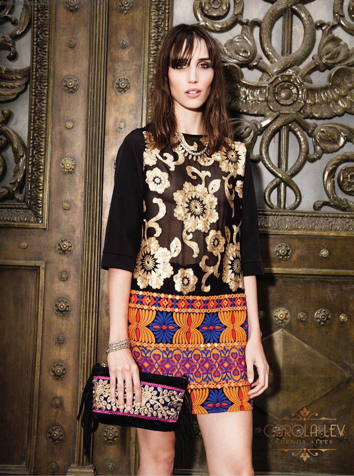 Looks invierno 2016 ropa de moda Carola Lev.