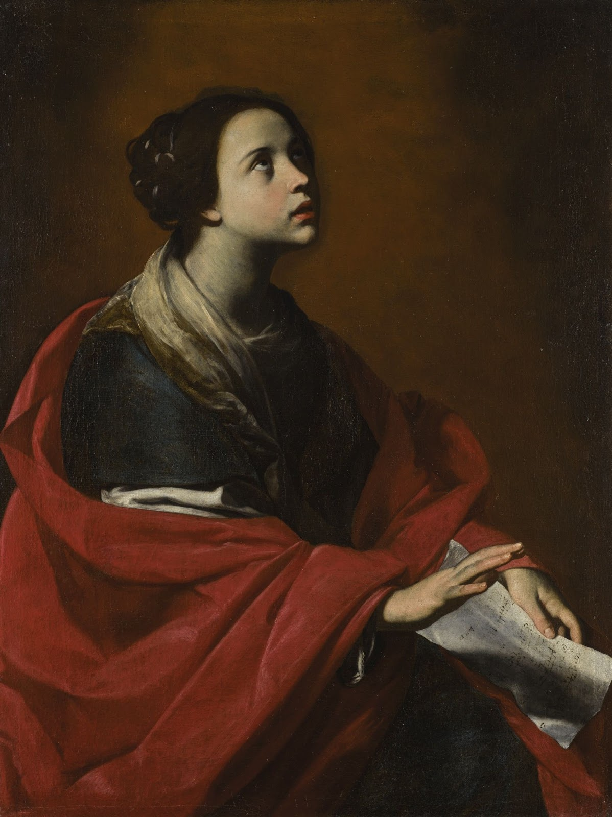 Massimo Stanzione   Santa Cecilia
