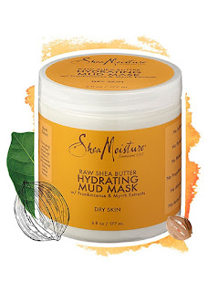 RAW SHEA BUTTER HYDRATING MUD MASK