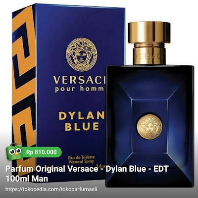 toko parfum asli parfum original versace dylan blue edt 100ml man