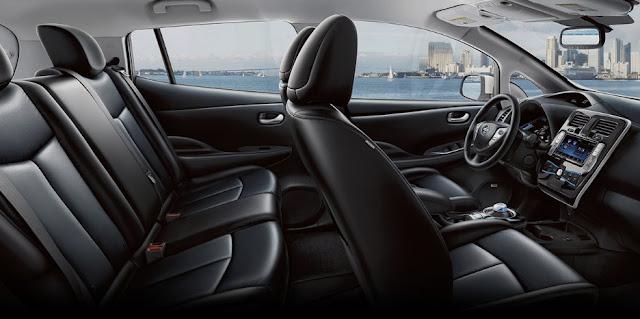 Nissan Leaf EV 2017 Interior