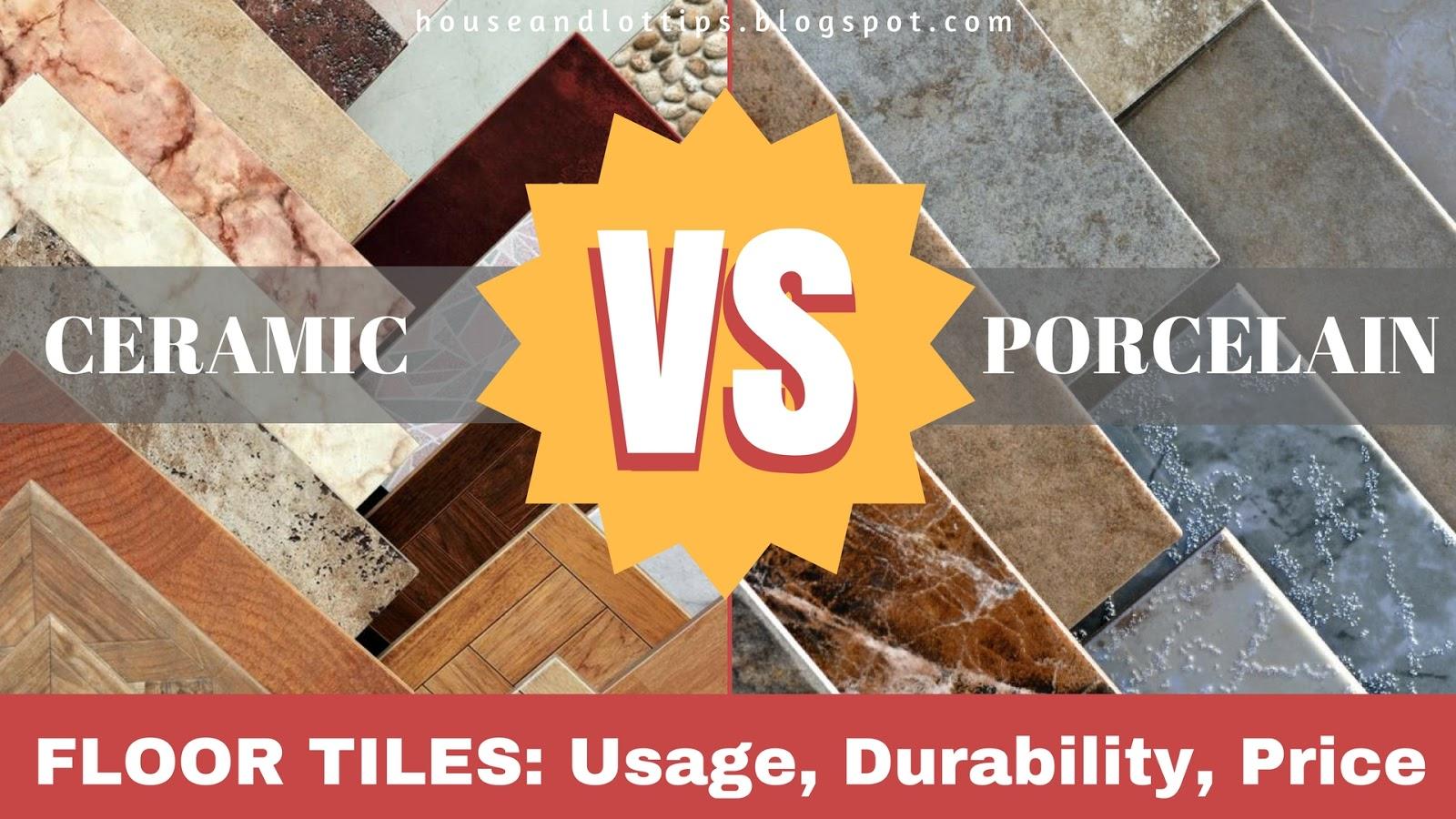 Ceramic vs porcelain floor tiles usage durability price all ceramic vs porcelain floor tiles dailygadgetfo Images