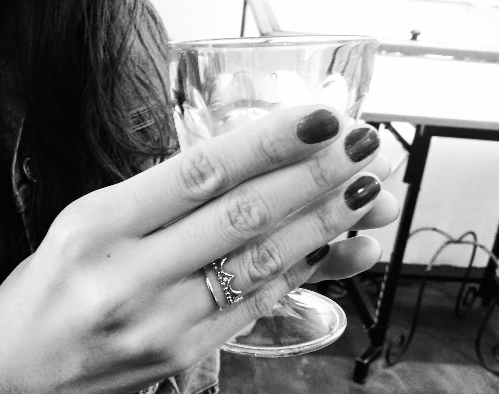 グラスとリング