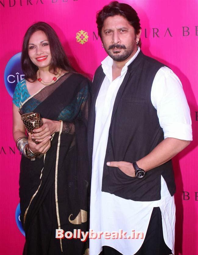 Maria Goretti and Arshad Warsi, Mandira Bedi Sari Store Launch Photos
