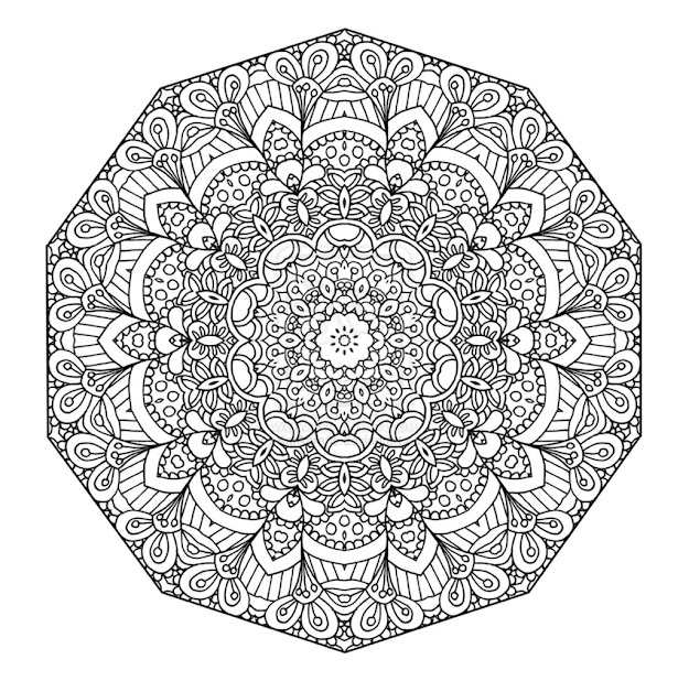 Great Adult Coloring Pages Mandala Printable One Of The Adult Coloring  Pages Mandala Printable   For Your Kids To Print Out And Find Similar  Of Great