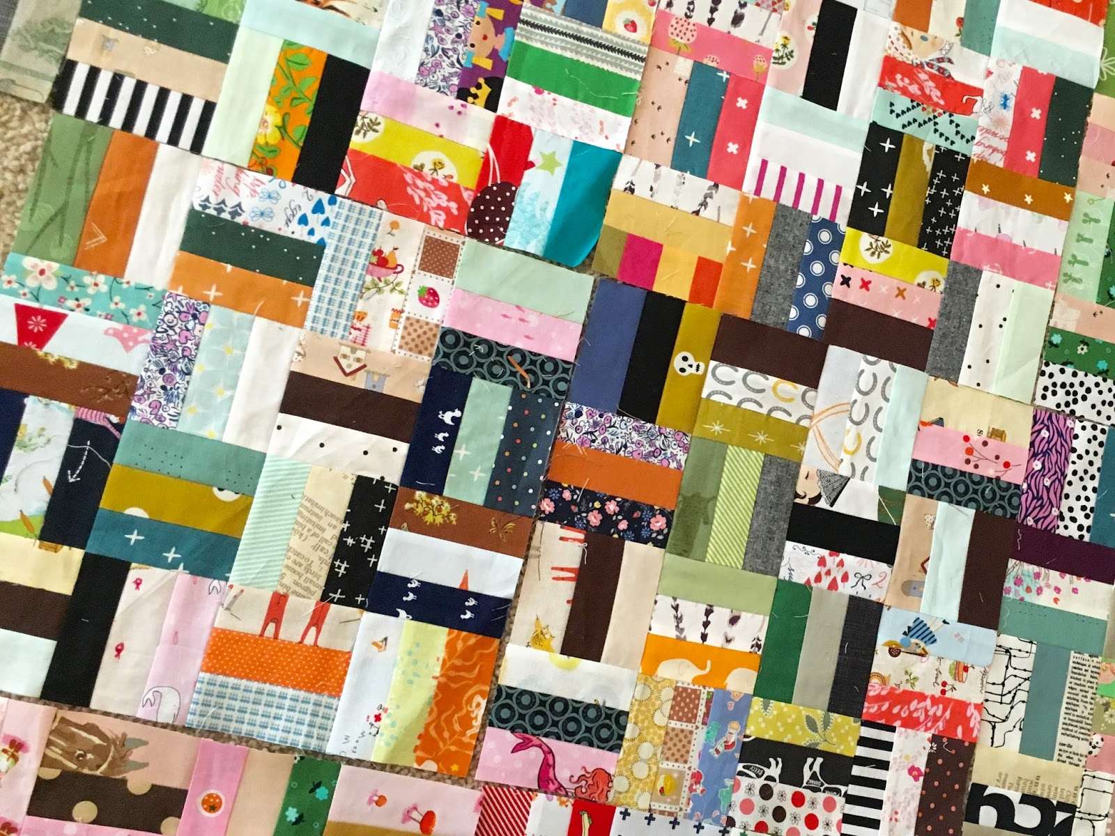 a quilt is nice: Scrap busting and planning : planning a quilt - Adamdwight.com