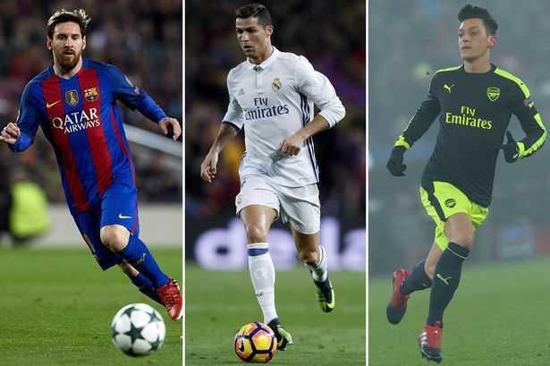 Messi atau Ronaldo Yang Paling Hebat Dan Ternyata Inilah Pilihan Ozil