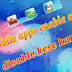 mobile apps ko enable ya disable kese kare