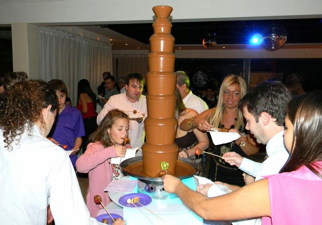 fuente de chocolate venta mendoza