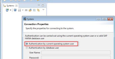 Hana security: Authentication model Kerberos/SPNEGO