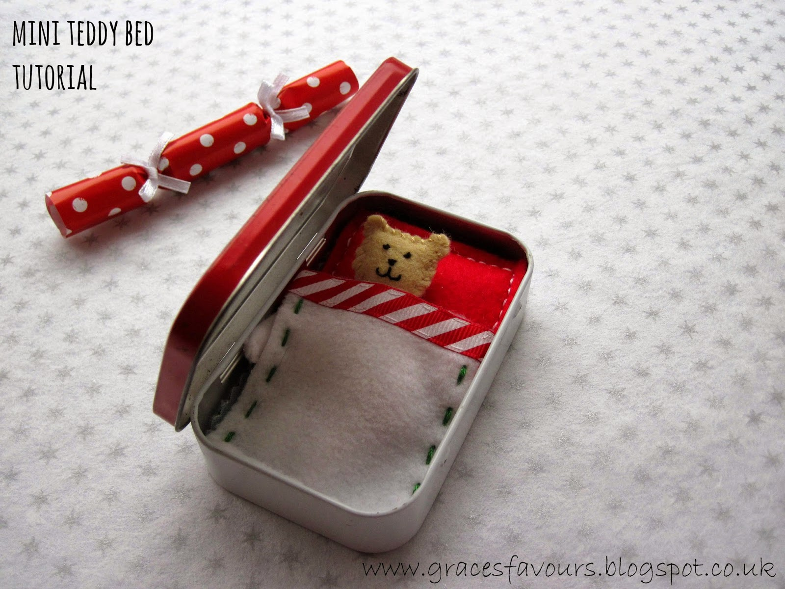 grace u0027s favours craft adventures how to make a mini teddy bed