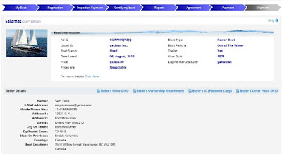 AdamSea - Online Yacht Sales Engine