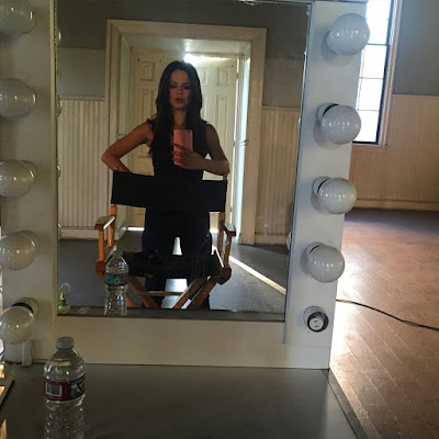 """PLL bts Tammin Sursok (Jenna) selfie 7x10 """"The DArkest Knight"""""""