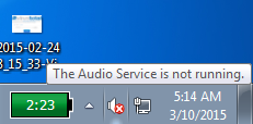 Cara Mengatasi The Audio Service Is Not Running windows 10