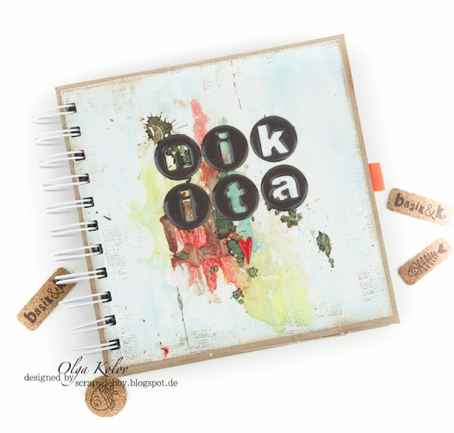 @olgakolov #workshop #scrapbooking #minialbum #babybook @scrapberrys @lindysstampgang #mixedmedia