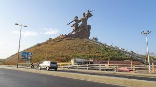Big monument of Dakar