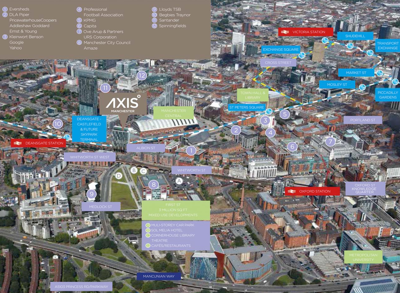 AXIS TOWER at Manchester LOCATION