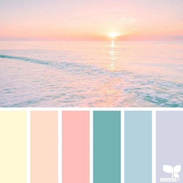 paleta madrinhas candy color ou tom pastel