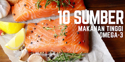 10 Sumber Makanan Tinggi OMEGA-3