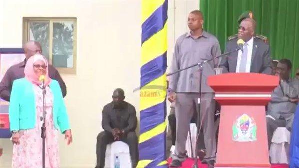 Tanzania's President John Magufuli 'sacks officials after public scolding'