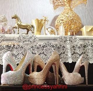 Koleksi Sepatu Hak Tinggi Syahrini Termewah Dan Termahal