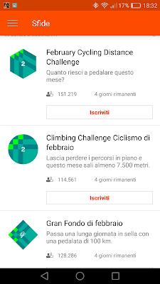 Strava sfide