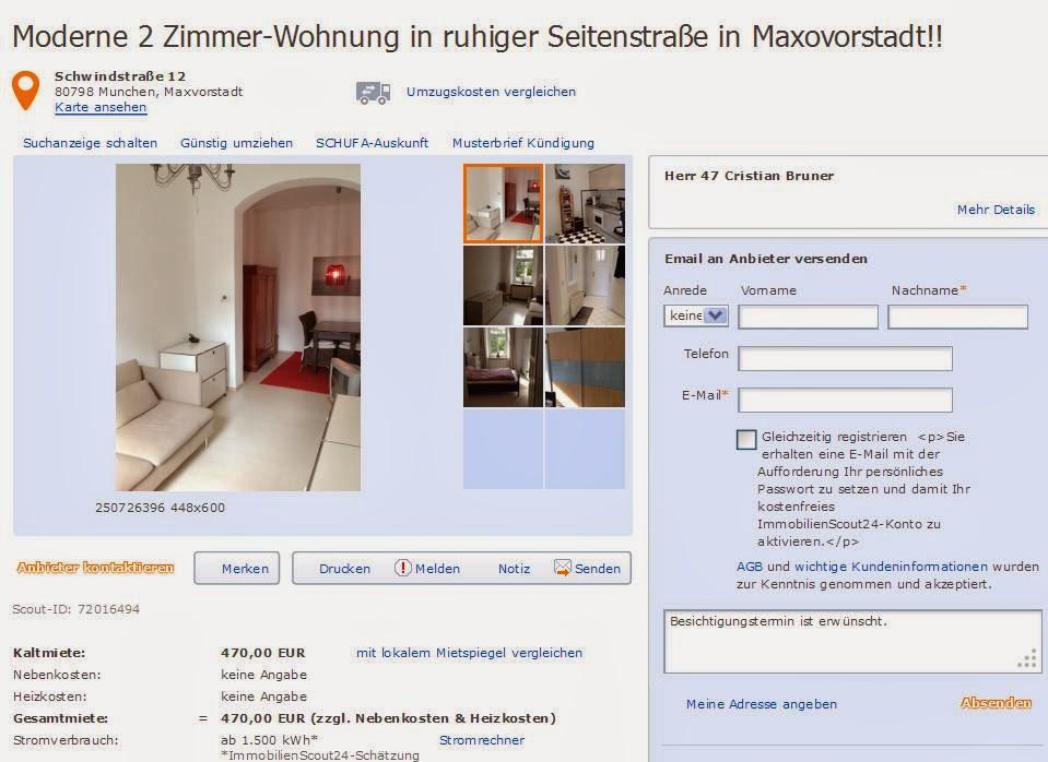 Zwei Zimmer Wohnung Munchen